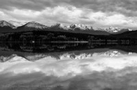 Pyramid Lake, The Trident Range photo