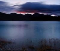 Preaches Point, Abraham Lake, photo