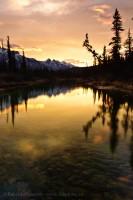 Rocky River, The Glory Hole, Jasper National Park photo