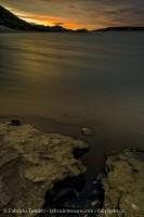 Sunset on Abraham Lake, prints photo