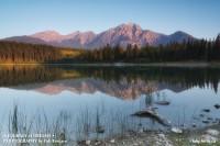 Jasper National Park, Alberta,pyramid mountain,patricia lake photo