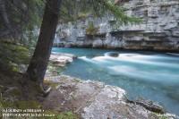 Jasper National Park, Alberta, Maligne River photo