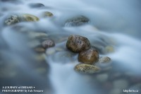 Maligne River,Jasper National Park, Alberta photo