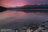 Patricia Lake,Jasper National Park, Alberta photo