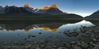 UPPER WATERFOWL LAKE,Banff National Park, Alberta Canada photo