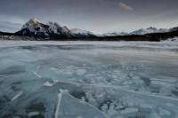 Abraham Lake, Alberta foothills photo