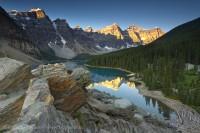 MORAINE LAKE,Banff National Park, Alberta Canada photo