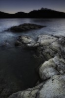 Lake Minnewanka, Banff National Park, photo