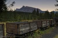Banff National Park, Alberta Canada,   lower bankhead photo
