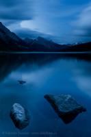 Medicine Lake, Jasper National Park photo