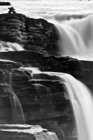 Athabasca Falls, Jasper National Park photo