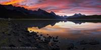 MALIGNE LAKE,Jasper National Park, Alberta, Canada photo
