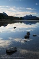 Jasper National Park, Alberta, Canada,  Maligne Lake photo