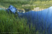 reflections,Banff National Park, Alberta Canada photo