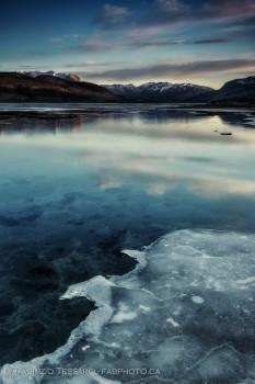 Jasper National Park, Alberta, Athabasca River photo