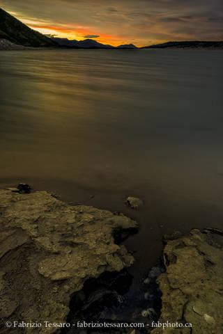 Abraham Lake, Kootenay Plains, Alberta