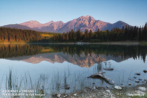 Jasper National Park, Alberta,pyramid mountain,patricia lake