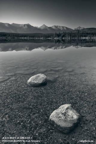 Patricia lake, pyramid island,Jasper National Park, Alberta