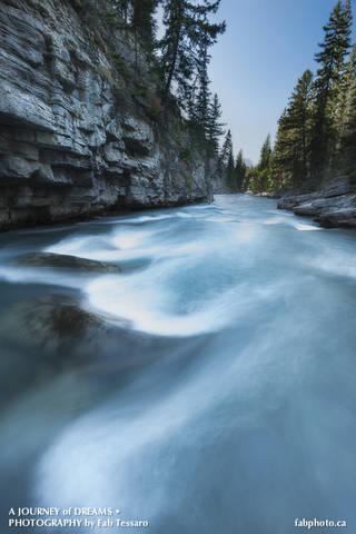 Maligne River,Jasper National Park, Alberta
