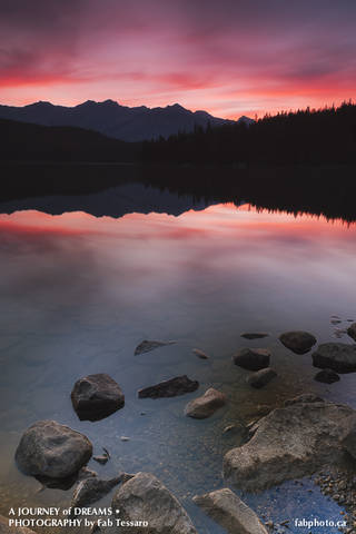 Pyramid Lake,Jasper National Park, Alberta