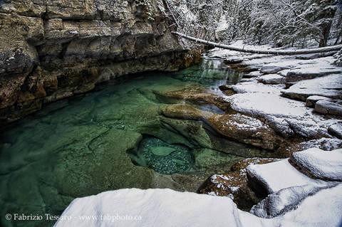 Jasper National Park, Alberta, Canada, Maligne River, HDR Image