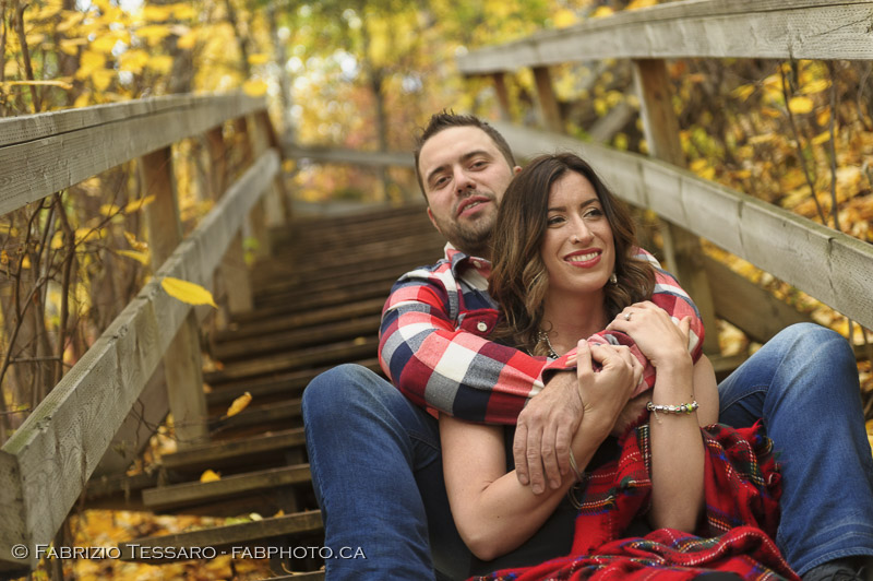 Andrew and Kirsten Edmonton Engagement Photos photo