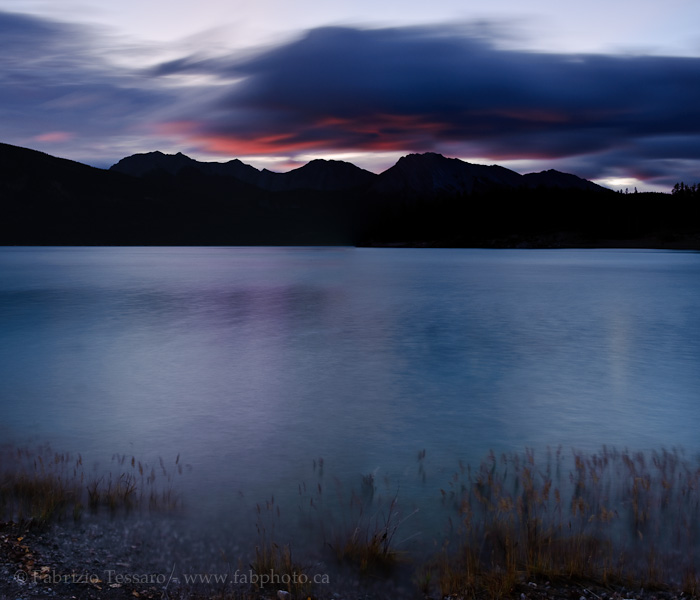 Preaches Point, Abraham Lake,, photo