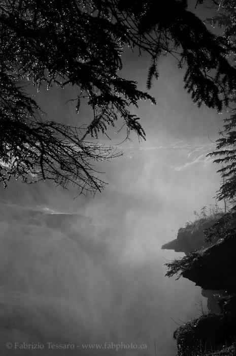 Athabasca Falls, Jasper National Park,   , photo