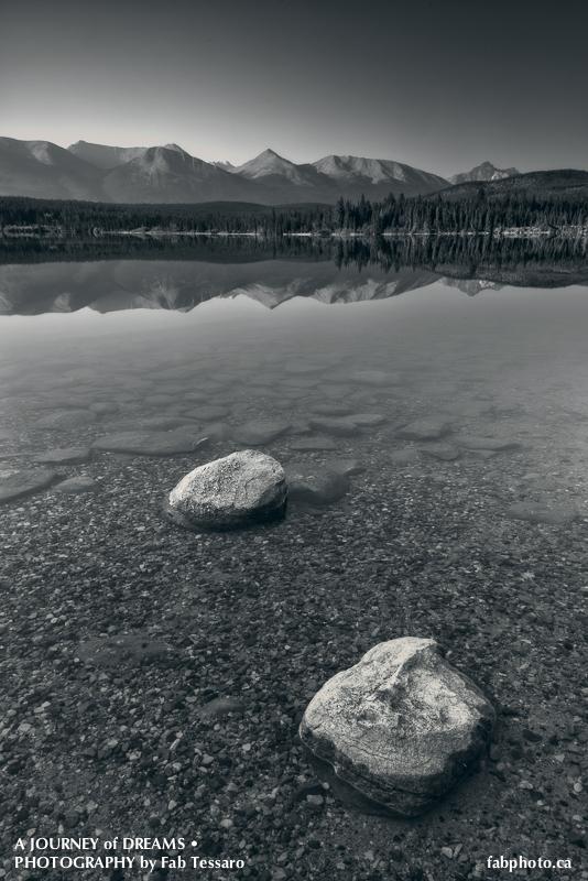 Patricia lake, pyramid island,Jasper National Park, Alberta, photo
