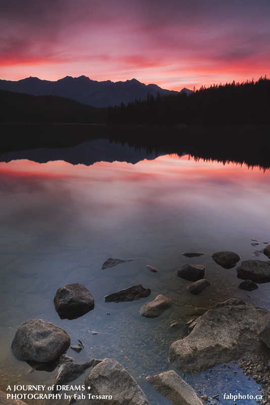 Pyramid Lake,Jasper National Park, Alberta, photo