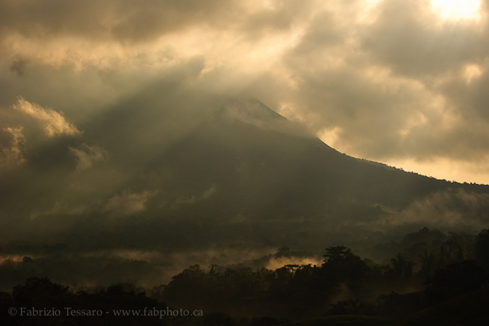 arenal volcano national park, costa rica, photo