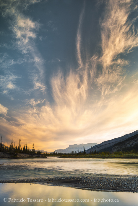 Athabasca River Jasper National Park, photo
