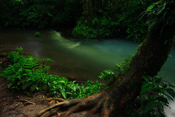 rio celeste, tenorio volcano national park, costa rica, photo