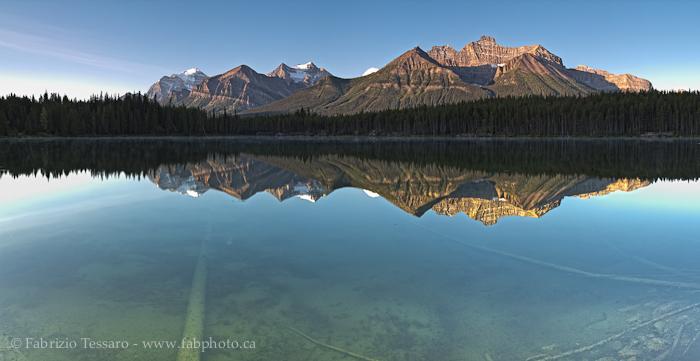 Banff National Park, Alberta Canada, HERBERT LAKE, photo