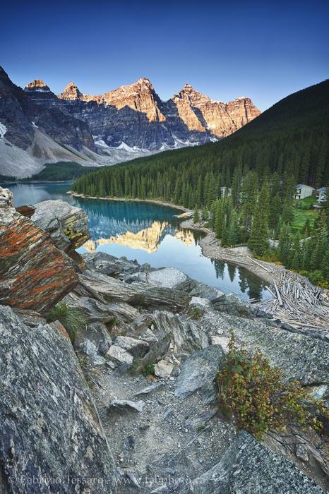 MORAINE LAKE,Banff National Park, Alberta Canada, photo