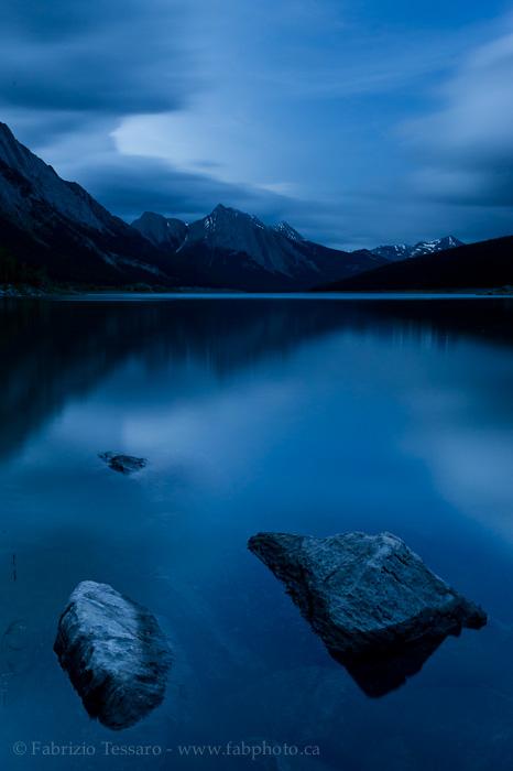 Medicine Lake, Jasper National Park, photo