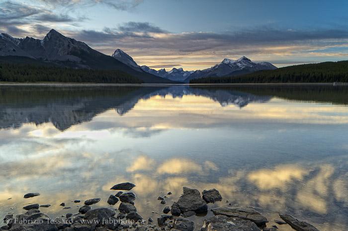 Jasper National Park, Alberta, Canada, Maligne Lake, photo