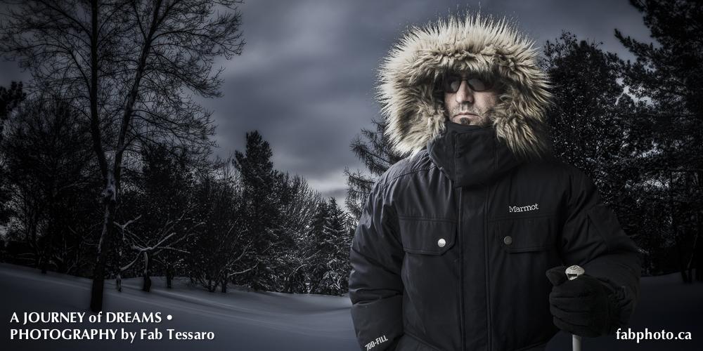 edmonton,winter, portrait, edge,, photo